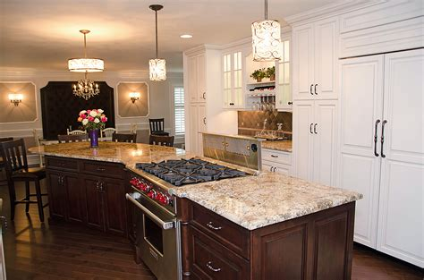 center island kitchen creative kitchen design manasquan new jersey by design line kitchens