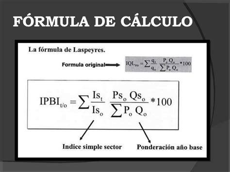 formula para el calculo de ptu 2016 c 225 lculo del ipc