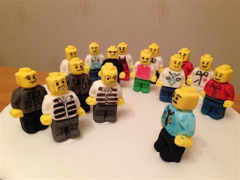 tutorial lego city lego city police birthday cake with handmade minifigures