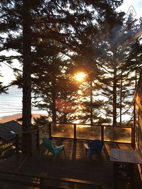 airbnb oregon coast oceanside oregon the perch cabin houses for rent get