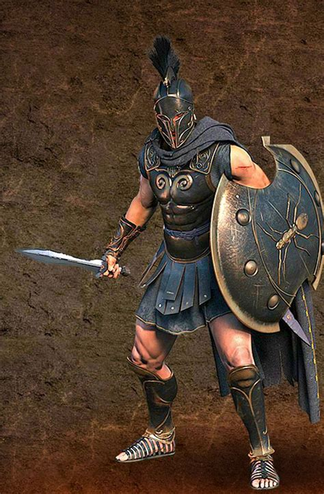 myrmidon concept greek warriors pinterest warriors
