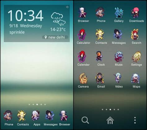 naruto themes for solo launcher download tema android kitkat keren