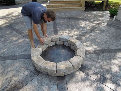 build pit concrete diy project how to build a backyard pit 3 most