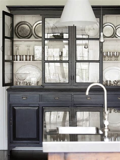 pretty kitchen display glass front cabinets transitional kitchen atlanta