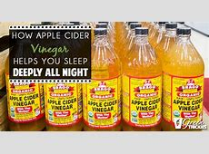 How Drinking Apple Cider Vinegar Helps You Sleep Deeply ... I'm Just Tired Of Everything