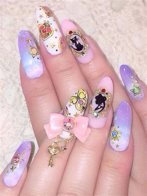 acrylic nails designs  summer  style easily