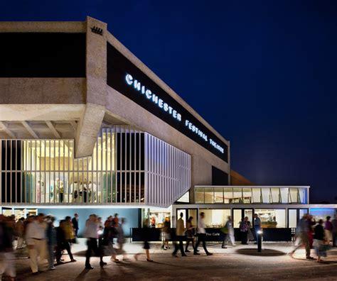 designboom theatre haworth tompkins restores historic chichester festival theatre