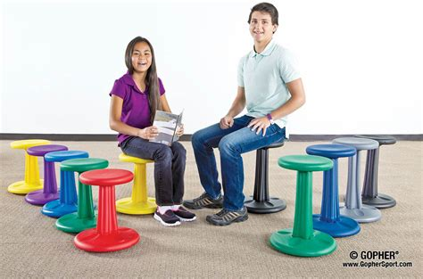 wobble chairs for classroom kore wobble chair gopher sport