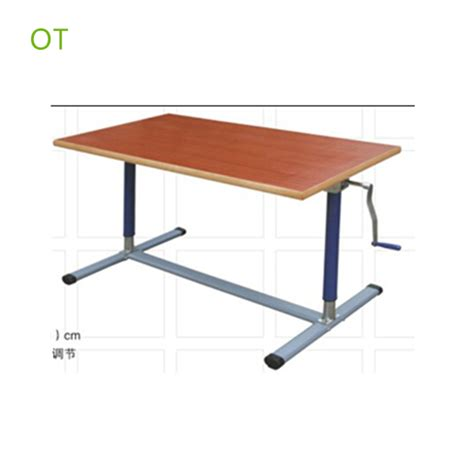 adjustable occupational therapy tables rehab equipments