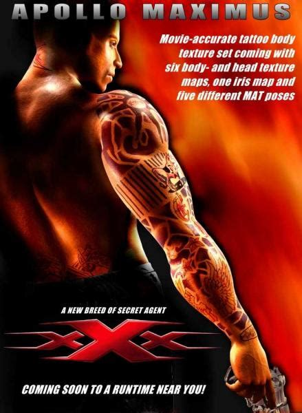 triple x tattoo the gallery for gt vin diesel in x