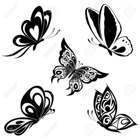 white butterfly tattoo monarch butterfly black and white s 248 k