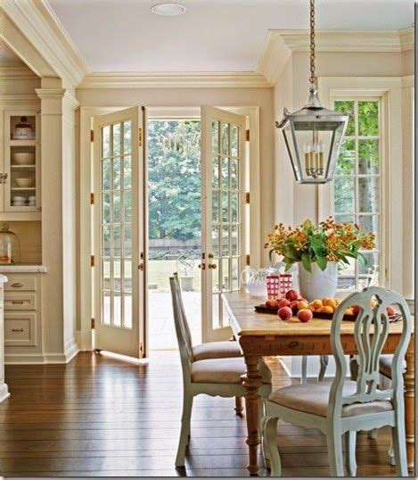 french doors    open   dining room addition