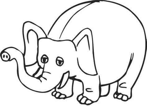 cartoon coloring pages download elephant cartoon pictures free download clip art free