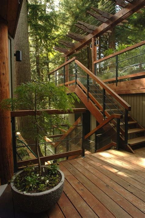 Wooden Stairs Design Outdoor How To Design Exterior Stairs