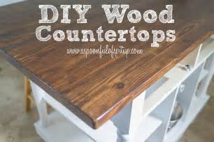 a spoonful of spit up diy wood quot butcher block quot countertops