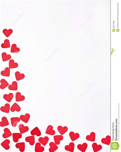 imagenes fondo blanco de amor corazones rojos en el fondo blanco imagen de archivo