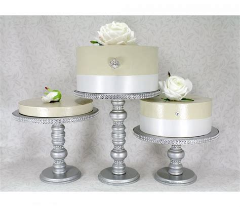 Wedding Cake Plates by Wedding Cake Display Yestbuy 6 Tier Maypole Square