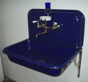 Cobalt Blue Kitchen Sink Kitchen Sinks Vintagebathroom