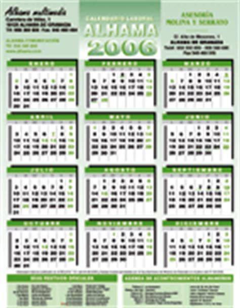 Calendario Laboral 2006 Aprobado El Nuevo Calendario Laboral Para 2007