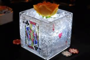 vegas themed centerpieces 25 best ideas about casino themed centerpieces on
