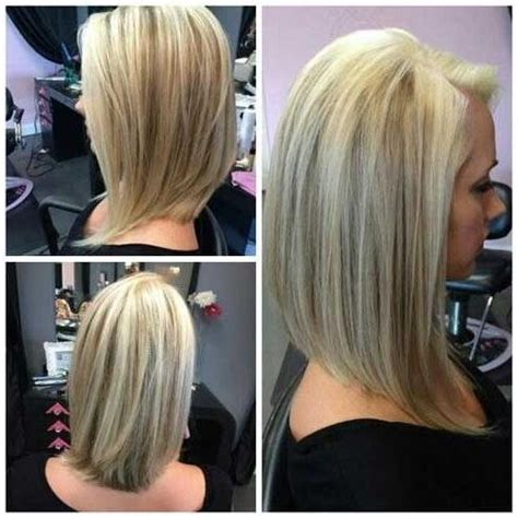 long bob angled hairstyles graduated layers 15 collection of graduated long haircuts