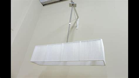 lampara de techo rectangular  salon comedor grande