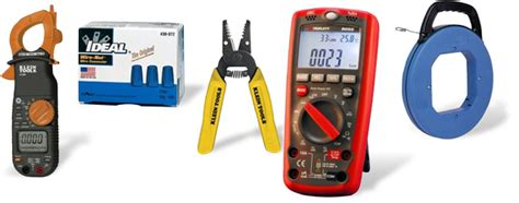 electrical tools wire connectors electrical test meters