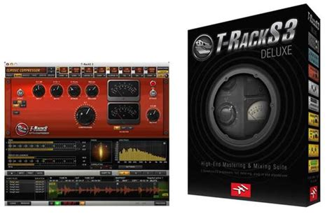 T Racks 3 Deluxe by Ik Multimedia T Racks 3 Deluxe Mastering Software