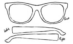 Glasses Template by Items Similar To Customized Personal Sunglasses 3 Up