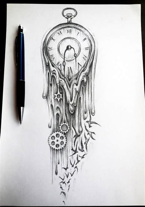 melting designs 49 phenomenal clock designs for your time