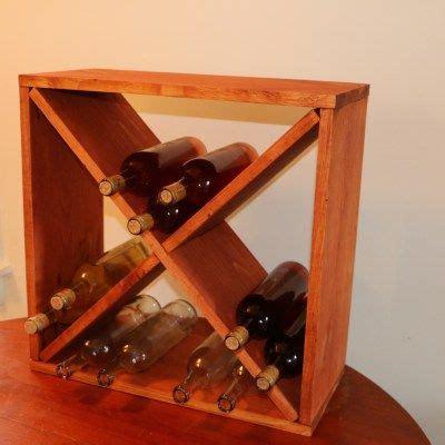 wine rack storage cube jeffs diy projects