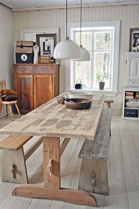 Rustic Country Kitchen Table Dining Table Davison Davison Davison Davison Pedersen D W E L L