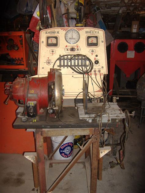 magneto bench tester i have a very old magneto testing bench the name on it is