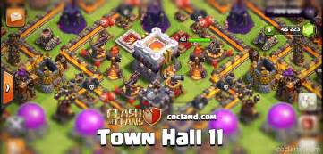Town hall 11 but i really like this design it looks really