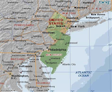 map of new jersey and new york new york map new jersey