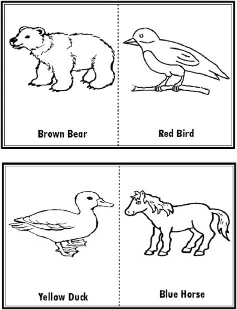 Excellent Brown Bear Coloring Page With Brown Bear Brown Book Coloring Pages