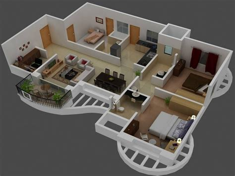 home design 3d play online 3d small house plans trends with 3 bedroom houseplan