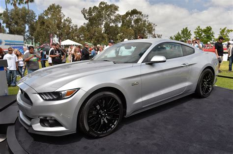 2015 ford mustang silver mustang driven 2015 mustang in ingot silver