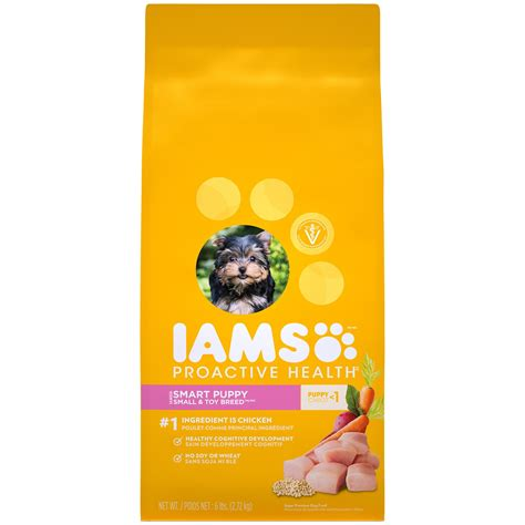 iams food puppy iams proactive health smart puppy small breed puppy food petco