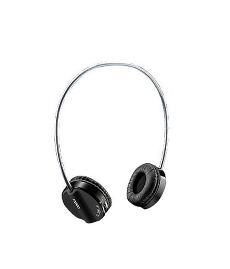 Headset Bluetooth Rapoo buy rapoo bluetooth stereo headset h6020 black at best price in india snapdeal
