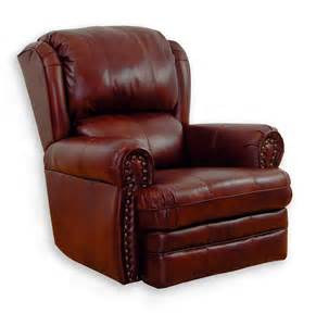 catnapper buckingham leather rocker recliner by oj