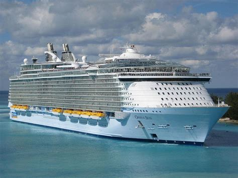 largest cruise ships in the world prozine top 10 largest cruise ships in the world