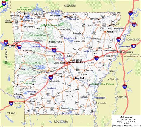 printable road map of ecuador printable map of arkansas free print out maps ar state