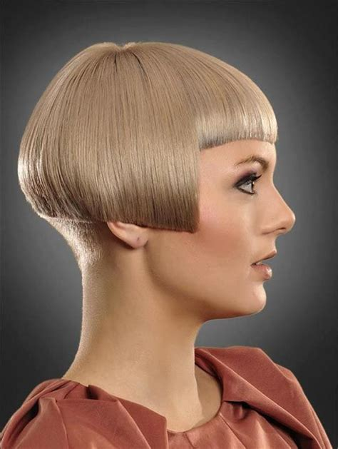 hairstyles over one ear the ear bob haircuts gorgeous short hairstyles back view