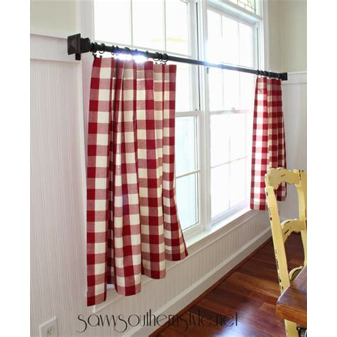 easy curtains no sew quick and easy no sew curtain diy projects the cottage