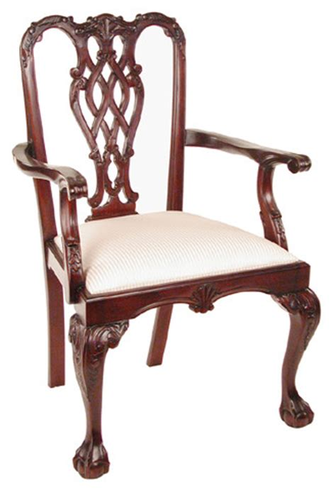 Louis Xvi Armchair Thomas Chippendale Furniture His Own Style