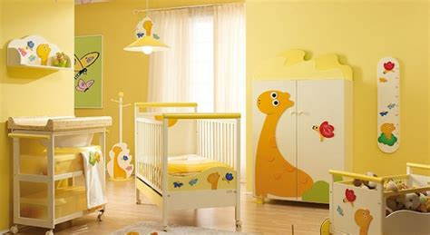 yellow baby bedroom environmentally friendly baby toddler kids furniture