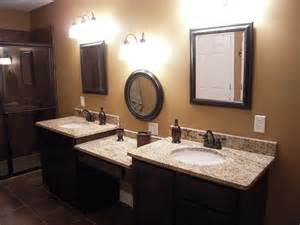 His And Bathroom Vanities by 17 Best Images About Master Bathroom On