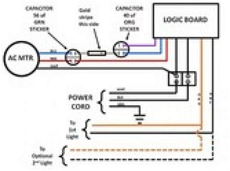 sears craftsman garage door opener wiring diagram wiring