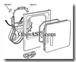 Ge Clothes Dryer Repair We3x87 Dryer Drum Bearing Ge Hotpoint General Electric